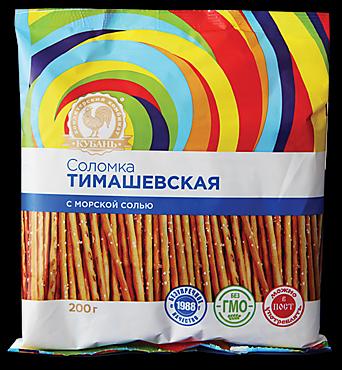 Соломка Тимашевская соленая, 200г