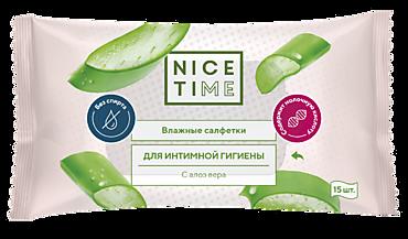«Nice Time», влажные салфетки