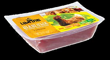 Шашлык из филе цыпленка «Цыпле» в сливочном маринаде, 900г