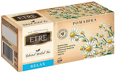 «ETRE», чайный напиток Relax Ромашка, 32г