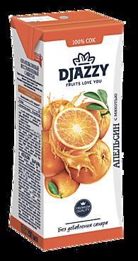 Сок «Djazzy» апельсиновый с мякотью, 200мл