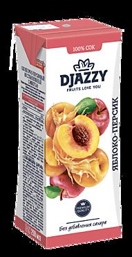 Сок «Djazzy» яблоко-персик, 200мл