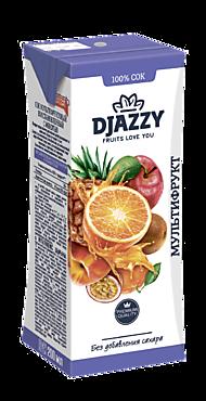 Сок «Djazzy» мультифруктовый, с мякотью, 200мл