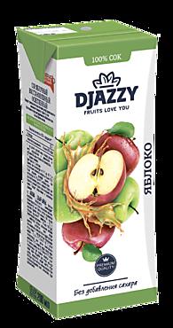 Сок «Djazzy» яблочный, 200мл