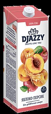 Сок «Djazzy» Яблоко-персик, 1л