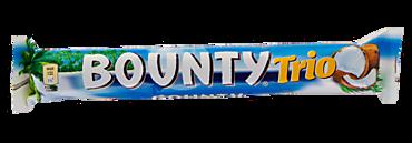 Батончик «Bounty» Trio, 82г