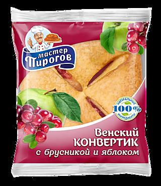 Слойка «Венский конвертик» «Коломенский» брусника-яблоко, 70г