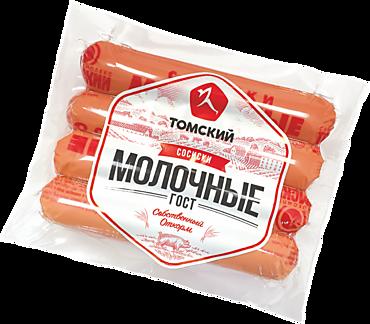 Сосиски «Свинокомплекс Томский» Молочные, 480г