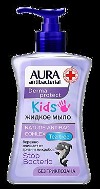 Мыло жидкое «Aura» антибактериальное KIDS, 250мл