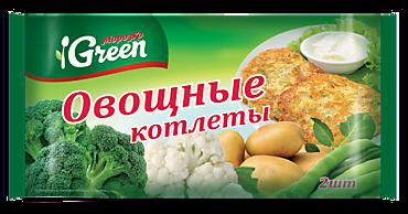 Котлеты «Морозко Green» овощные, 150г