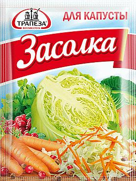 Приправа «Трапеза» для квашения капусты, 30г