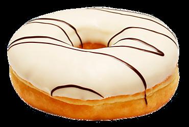 Пончик-донат Ринг ванильный, 60г