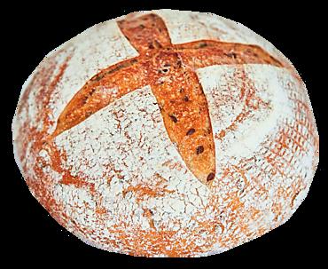 Хлеб бездрожжевой подовый со льном, 350г
