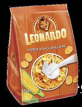 Хлопья кукурузные «Leonardo», 250г