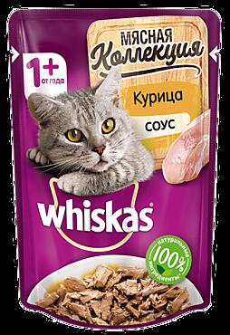 Влажный корм для кошек «Whiskas» Курица, 85г