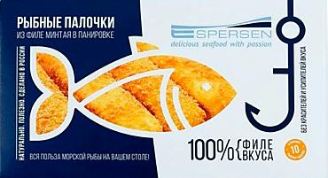 Рыбные палочки «Эсперсен» из филе минтая, 250г