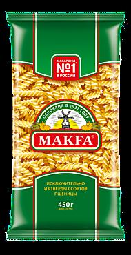 Макароны «Makfa» Спирали, 450г