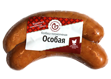 Колбаса куриная «Межениновская птицефабрика» Особая, 0,3 - 0,4кг