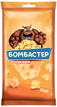 Попкорн «Бомбастер» со вкусом сыра, 80г
