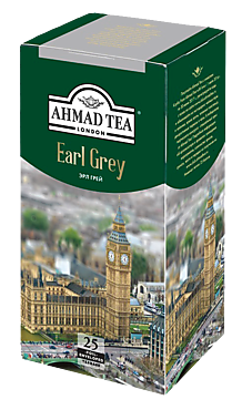 Чай черный «Ahmad Tea» Earl Grey, 50 г