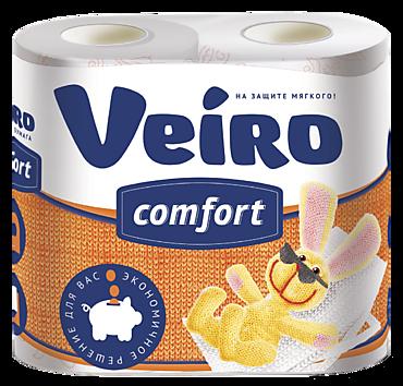 Туалетная бумага двухслойная «Veiro» COMFORT
