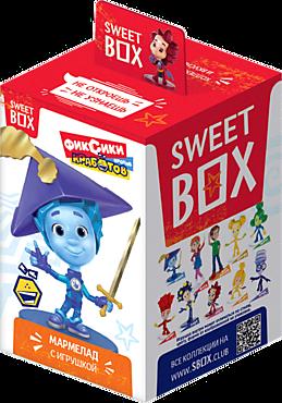 Мармелад жевательный «Sweet box» с игрушкой «Фиксики», 10г