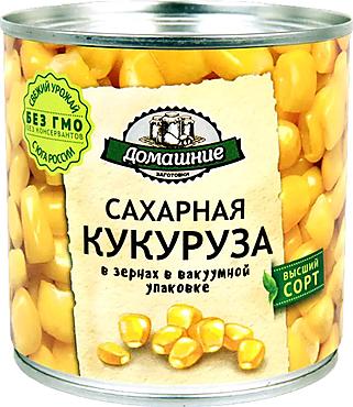 «Домашние заготовки», кукуруза консервированная, 340г