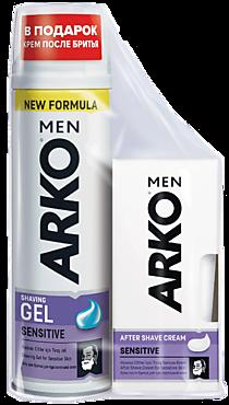Средства для бритья «ARKO» гель для бритья+крем после бритья