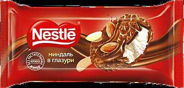 Мороженое «Nestle» в глазури с миндалем, 90мл