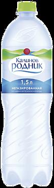 Вода минеральная «Калинов Родник» негазированная, 1,5л