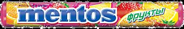 Драже жевательное «Mentos» Фрукты, 37г