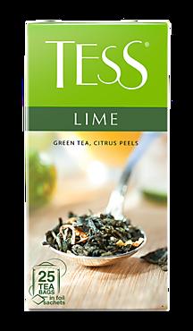 Чай зеленый «Tess» лайм, 25 пакетиков