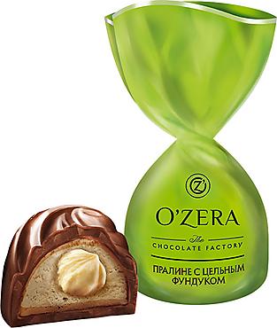«OZera», конфеты с цельным фундуком (упаковка 0,5кг)