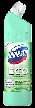 Универсальный чистящий гель «Domestos» ECO с натуральными компонентами Эвкалипт и Лимон, 750мл
