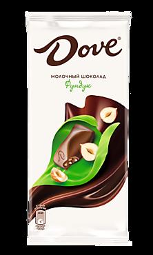 Шоколад молочный «Dove» Фундук, 90г