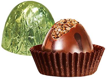 Конфета «Вулкан» лесной орех (упаковка 0,5кг)