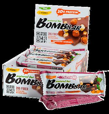 Батончик протеиновый «Bombbar» шоколад-фундук, 60г
