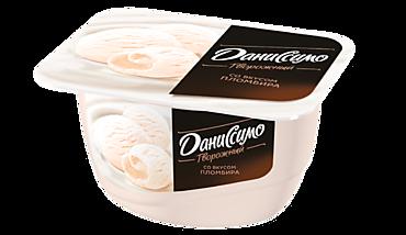Творожный десерт 5.4% «Даниссимо» со вкусом пломбира, 130г