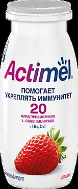 Кисломолочный напиток 2.5% «Actimel» Клубника, 100г