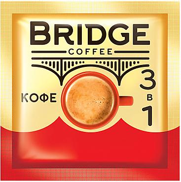 «Bridge», напиток кофейный 3 в 1, 20г