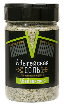 Соль Адыгейская Абадзехская, 300г