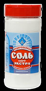 Соль Экстра, йодированная, 500г