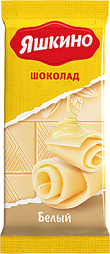 «Яшкино», шоколад белый, 90г