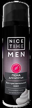 Пена для бритья «Nice Time» для чувствительной кожи, 240мл