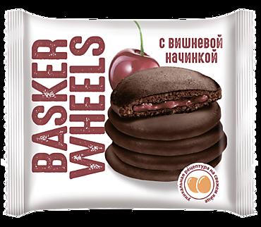 Панкейк «Basker Wheels» какао-вишня, 36г