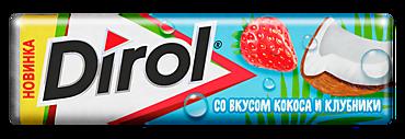 Жевательная резинка «Dirol» Кокос-клубника, 13г