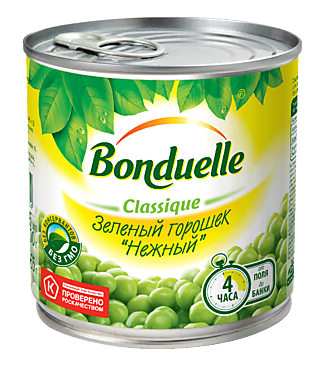 Горошек «Bonduelle» 425мл