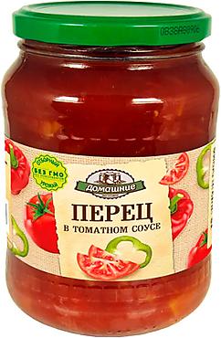 «Домашние заготовки», перец в томатном соусе, 680г