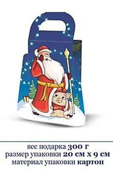 «Яшкино», новогодний набор «Дед Мороз», 300г