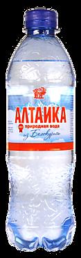 Вода природная «Алтаика» газированная, 500мл